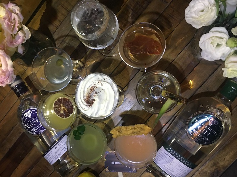 Ramsbury Single Estate Cocktail Competition, Brewery at the Palace