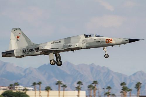 F-5N 761527 MCAS Yuma WM   by finband76