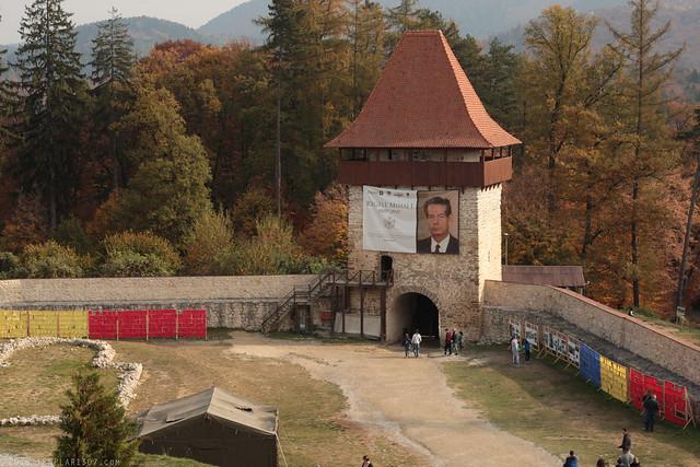 RO18 0893 Cetatea Râşnov. Râşnov, Braşov