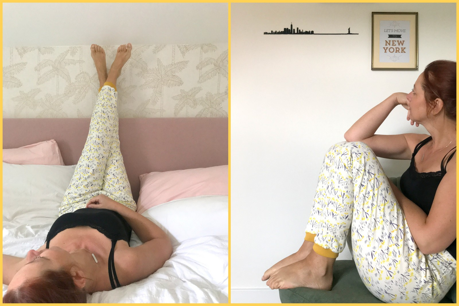 lazy London sweatpants