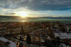 Sunrinse above Lindau