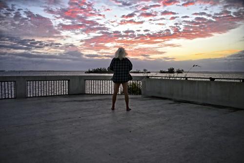 nikond810 sunrise arloguthrie indianriver selfportrait