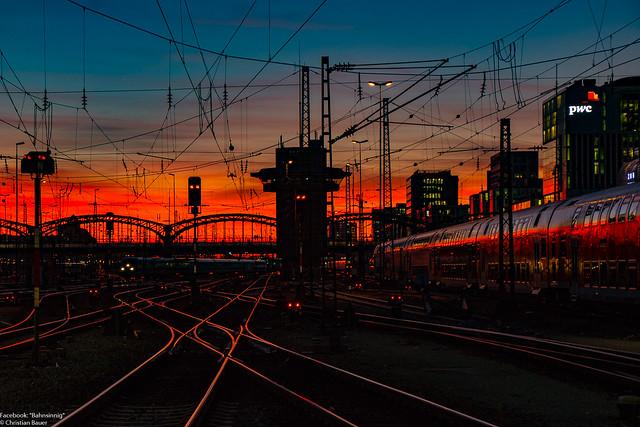Eisenbahnmomente. München Hbf, 26.02.2019