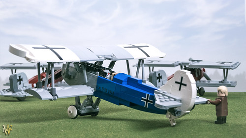 Lego Fokker D.VII | by Dread Pirate Wesley
