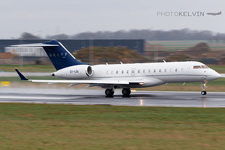 Bombardier Global 6000 - Graff Aviation - OY-LGI   by Kelvin Jahae