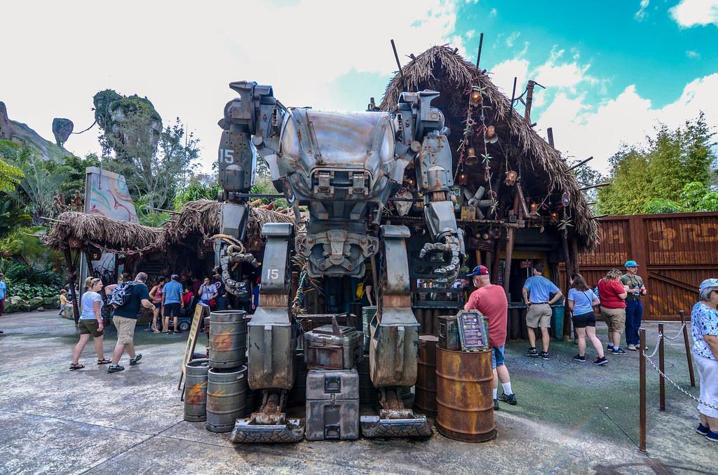 Robot Pandora AK