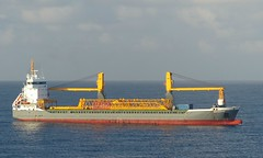 Trito Navigator off Bridgetown - 14 March 2019