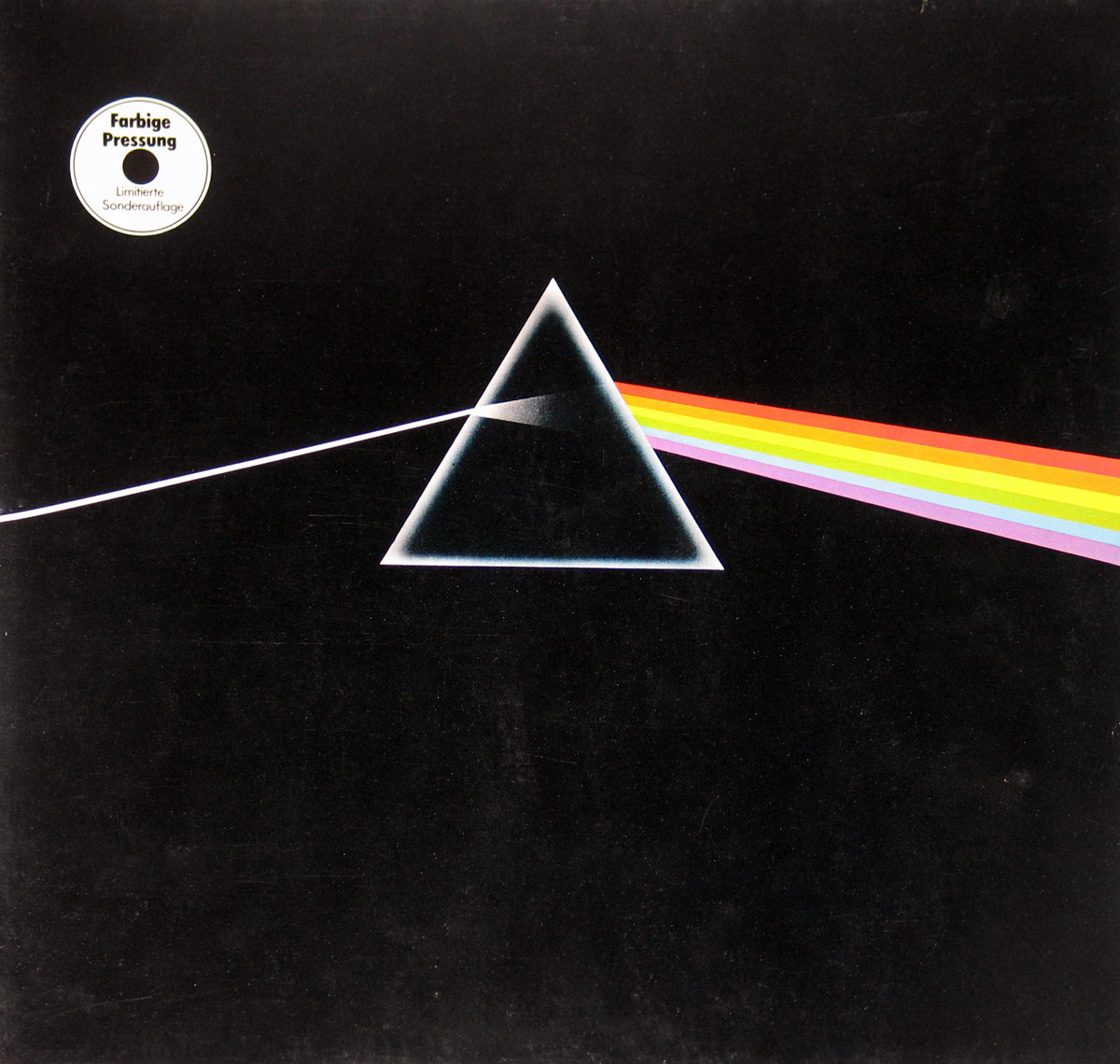 Pink Floyd Dark Side of the Moon White Vinyl