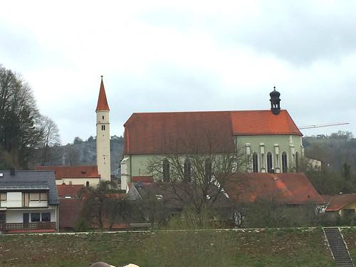 08 - Franziskanerkirche Kelheim  - Donaufahrt zum Kloster Weltenburg