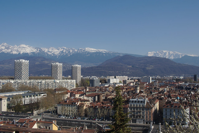 Paysage Grenoble