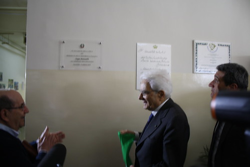 Visita del Presidente Mattarella all'Arsenale dell'Incontro