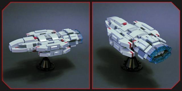 Damocles Class Battlestar