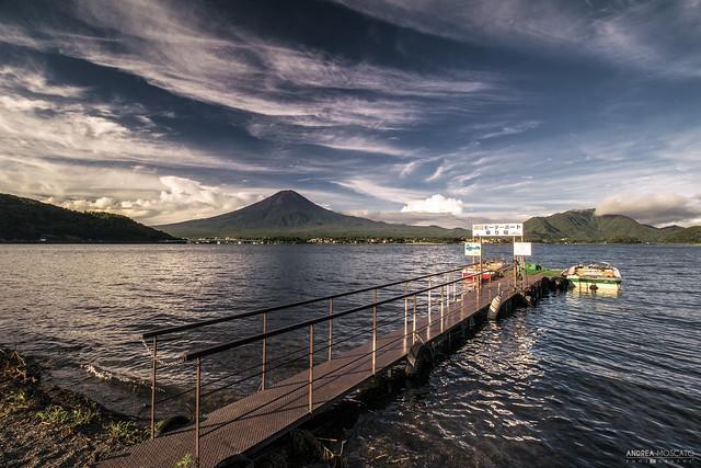 Lake Kawaguchi and Fuji-san - Kawaguchiko (Japan)