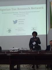FIRS Mrs Takon_chairman keynote