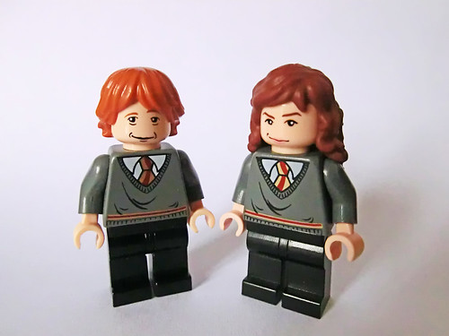 Ron & Hermione (alternate faces) | by Ptéra