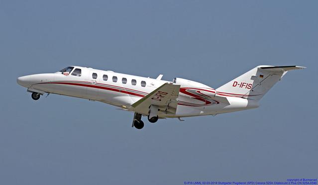 D-IFIS LMML 02-03-2019 Stuttgarter Flugdienst (SFD) Cessna 525A CitationJet 2 Plus CN 525A-0340