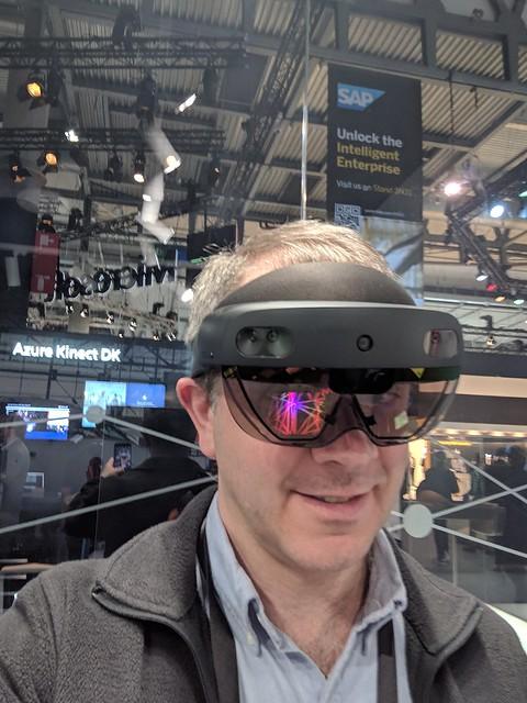 HoloLens 2 selfie