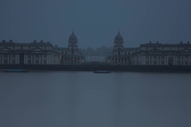early morning mist in Greenwich