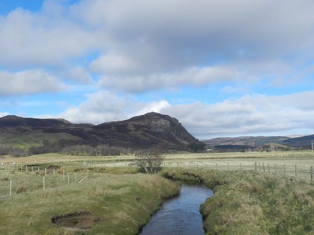 River Nairn, East Croachy, Strathnairn, Mar 2019