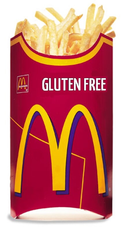 McDonald's Gluten Free french fries