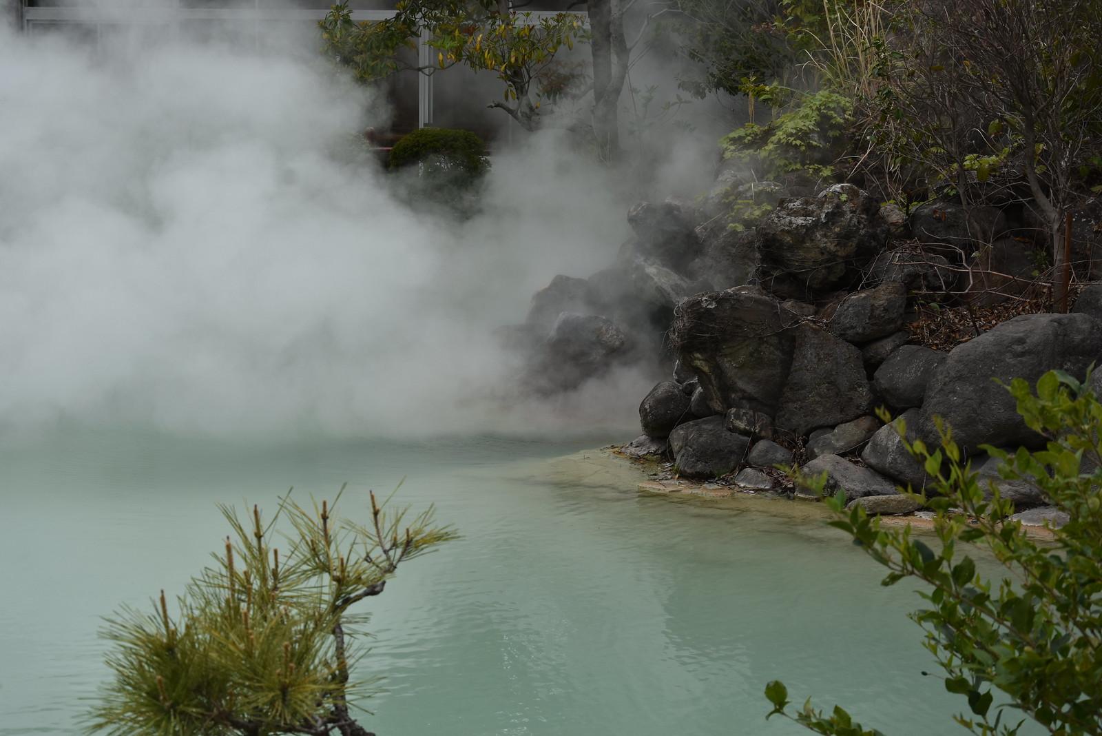 7 enfers de Beppu - Shiraike Jigoku