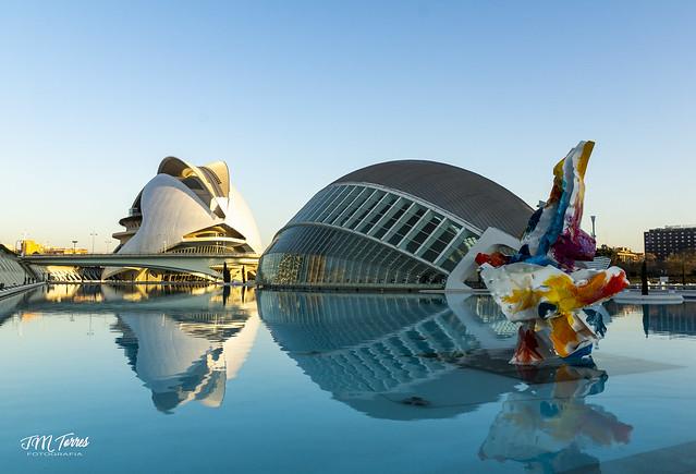 Arne Quinze en la Ciudad de las Ciencias de Valencia