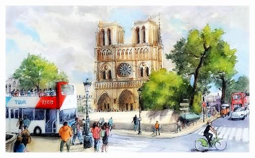 Paris - France - Notre Dame