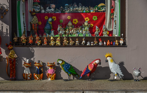 A toy shop in Hallstatt Village of Austria | by phuong.sg@gmail.com