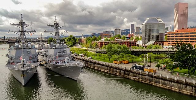 Fleet Week in Portland, Oregon (2012)