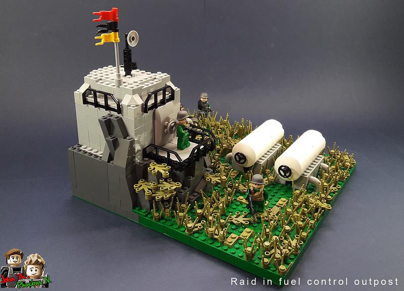 [Great Brick War - Adamson (γιος Adam)] - Raid in Fuel Control Outpost 47447812331_bc325dcd68_c