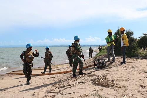 A Company, Foot patrol with FARDC at Soekarno Camp  1 | by MONUSCO