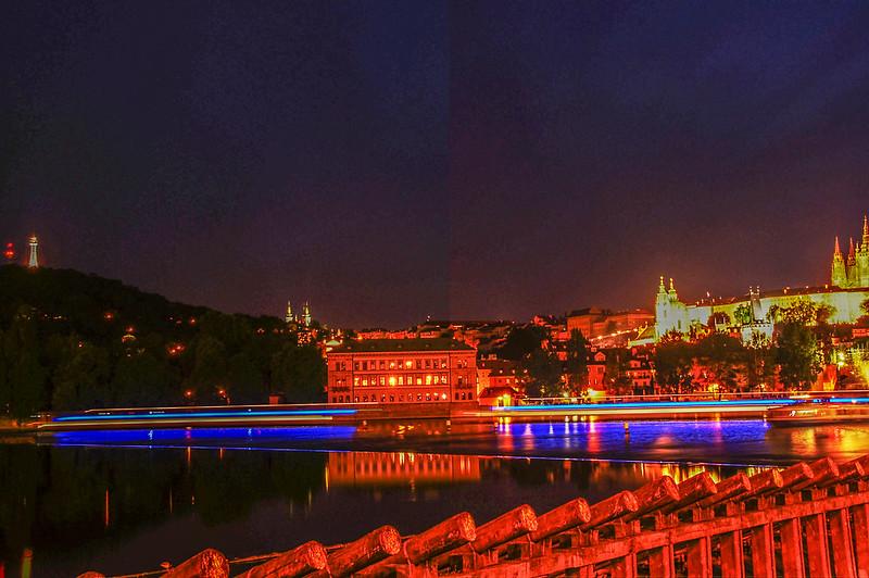 查理大橋夜景 12
