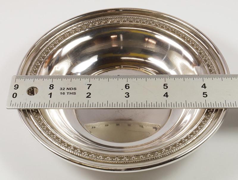 RD27847 Vintage Sterling Silver Bowl Dish 536 RD Richard Dimes 74 Grams DSC00252