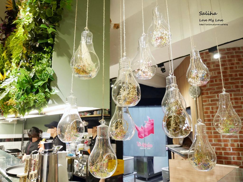 台北松山小巨蛋站餐廳咖啡廳甜點店Bubble Cafe (7)