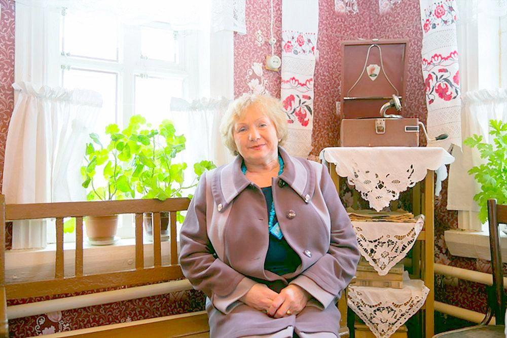 Тамара Дмитриевна Филатова, племянница Ю.А. Гагарина