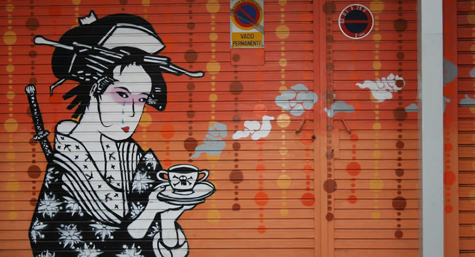 Street art in Valencia | Mooistestedentrips.nl