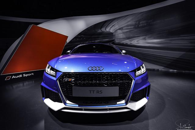 Audi TTRS in Audi Pavilion - Autostadt Wolfsburg - Germany