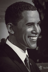 Barack Obama, 44th President of the United States, Madame Tussauds, Washington, D.C., United States of America.