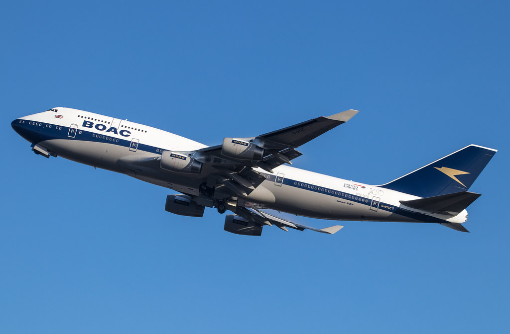 EGLL - Boeing 747 - British Airways - G-BYGC