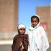 Girls near the St Mariam Coptic Church, Asmara / Eritrea