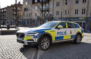 20190329 Polisbil Volvo XC90 Hassleholm torget 0360 | by News Oresund