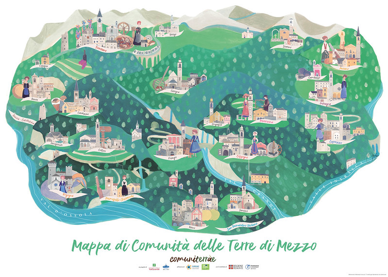 Commonlands: Cultural Community Mapping in Alpine Areas, Italy