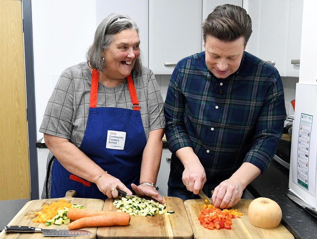 Tesco Community Cookery School with Jamie Oliver