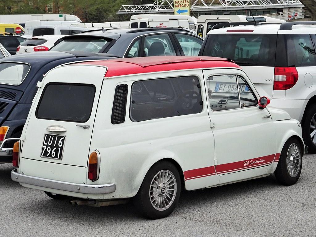 1972 Fiat 500 Giardiniera Abarth Replica Alessio Flickr