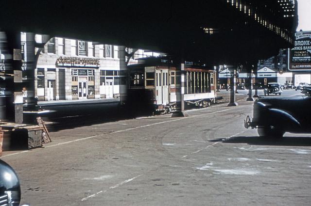 US NY NYC - Third Avenue Railway System 293 (116618) Fordham Plaza/3rd Avenue
