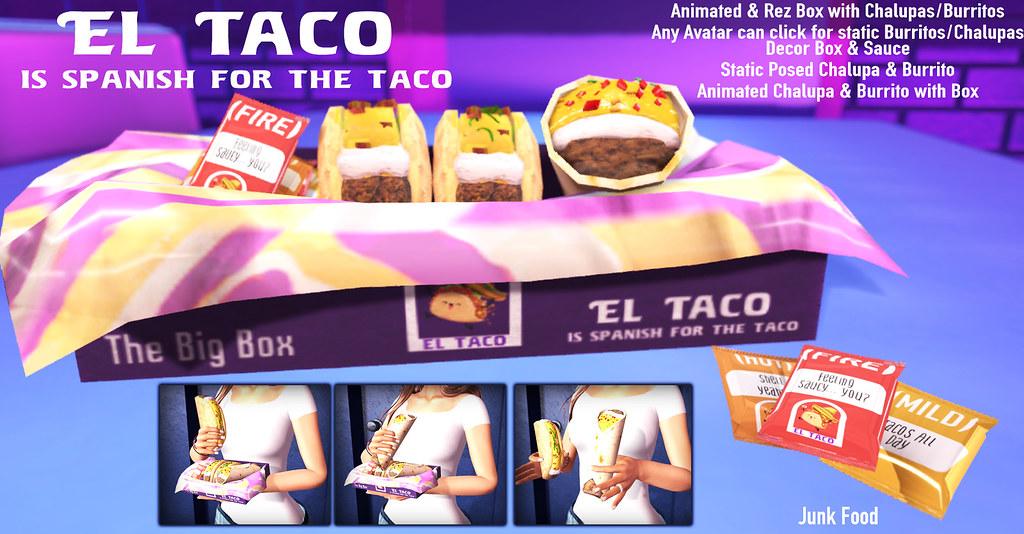 Junk Food – El Taco Ad