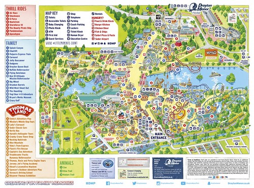 Drayton Manor 2016 Park Map | by ThemeParkMedia