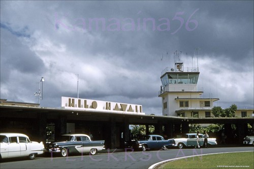1950s hilo hawaii airport bigisland slide