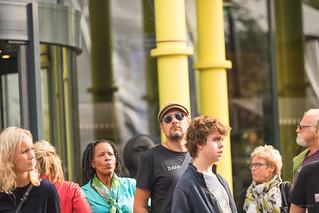 Chris in the crowd.   by Alex-de-Haas