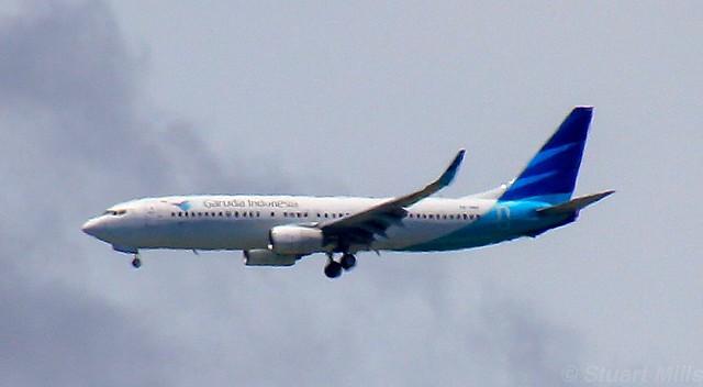 PK-GMS | Garuda Indonesia | GA451 | LOP - DPS | Boeing 737-8U3 | Ngurah Rai International Airport | (DPS/WADD)